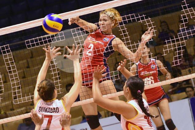 Aby Marano pleads to give PH women's volleyball team a chance