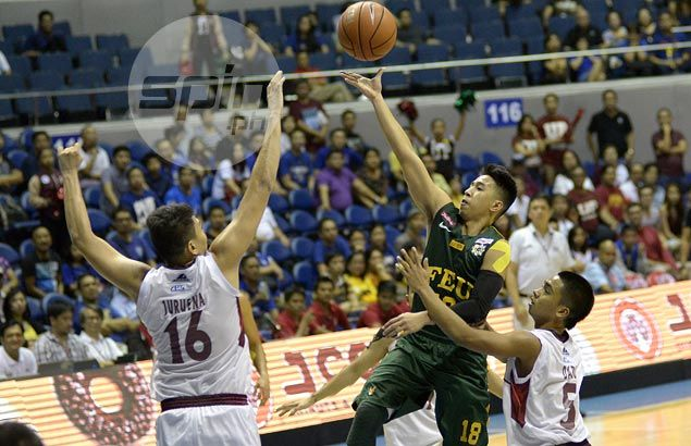 Inigo helps FEU Tamaraws hold off UP Maroons and secure at least a playoff for Final Four spot