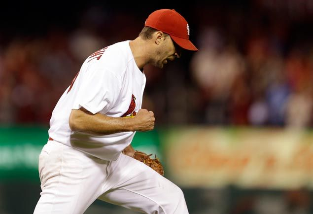 Adam Wainwright matches MLB lead with third shutout and 19th win as Cardinals beat Brewers