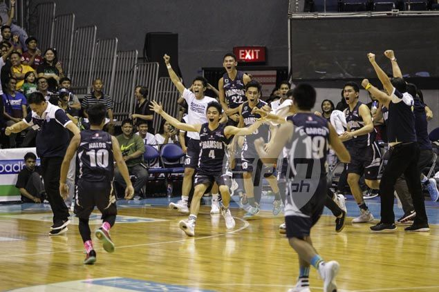 Papi Sarr caps Adamson Falcons comeback from 16 points down to beat La Salle Green Archers