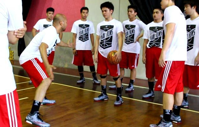 Basketball camp participants try out adidas' Crazylight Boost. Find out what they think