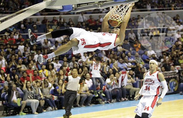 Japeth Aguilar torn between joining or skipping this year's Slam Dunk contest. Find out why