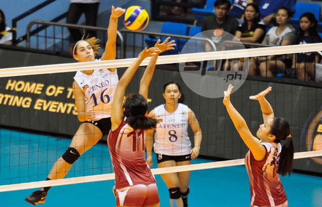 Ateneo breezes past UP to clinch berth in UAAP women's volleyball Final Four