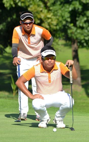 Aidric Chan, Ira Alido set pace in National Doubles Amateur Golf