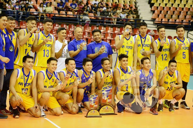 Air Force bags Spikers Turf title with sweep of Cignal in finals