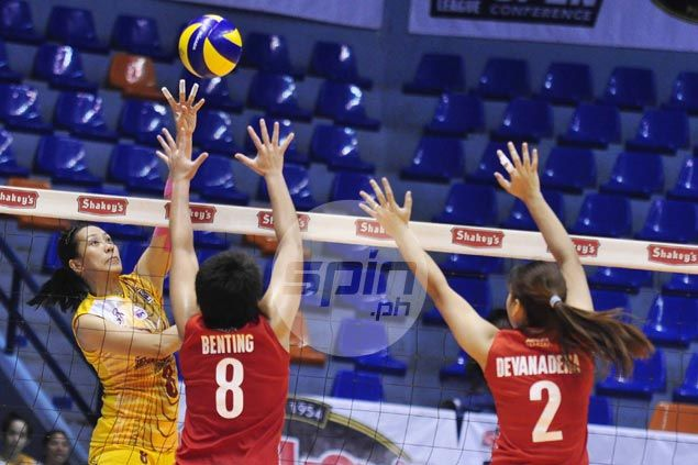 Cagayan Valley stops PLDT in three sets to move within a win of another title showdown with Army