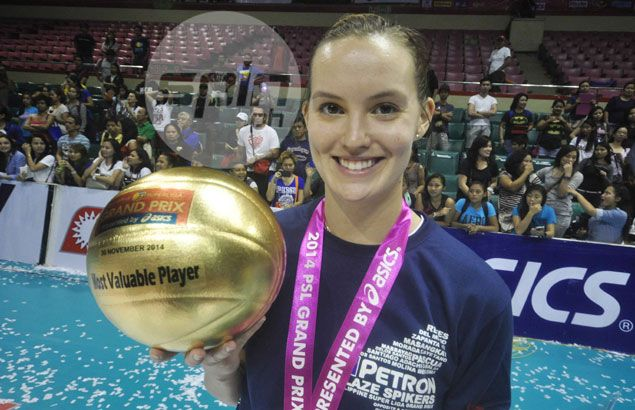Alaina Bergsma lives up to her words after steering Petron to PSL Grand Prix championship