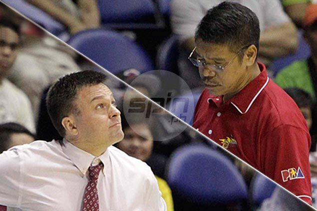 PBA Philippine Cup finalists Alaska and San Miguel clash in grudge match