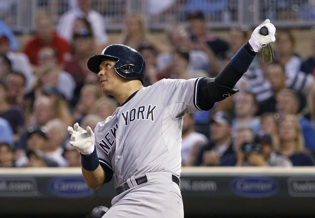 Alex Rodriguez hits three homers to help Yankees rally past Twins