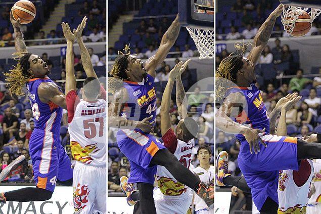 Raymond Almazan shrugs off Kwame Alexander's posterized dunk on him: 'Hindi naman ako mamamatay dun'