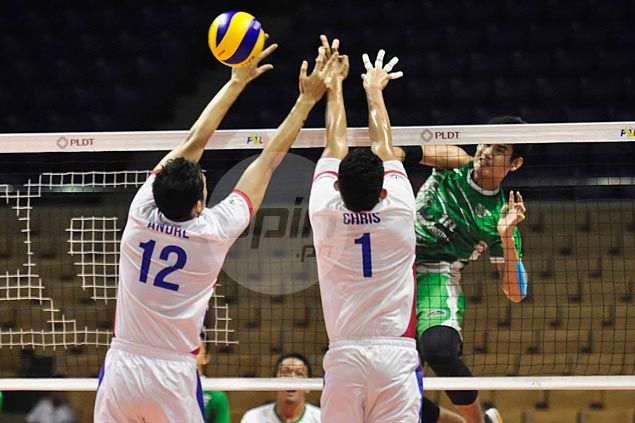 Cignal kicks off men's Super Liga campaign on high note with three-sets win over Bench-Systema