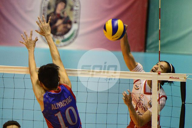 EAC takes No. 1 seeding, sets up semifinal showdown with San Beda in NCAA volleyball