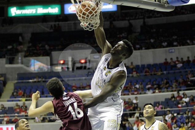 Cameroonian Alfred Aroga shrugs off back spasms to deliver big time in Bulldogs' win over Maroons