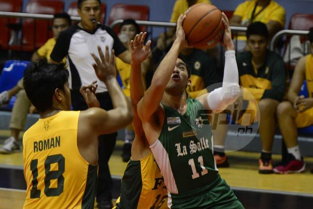 Aljun Melecio scores 41 points as La Salle-Zobel downs FEU to gain solo second in UAAP Jrs