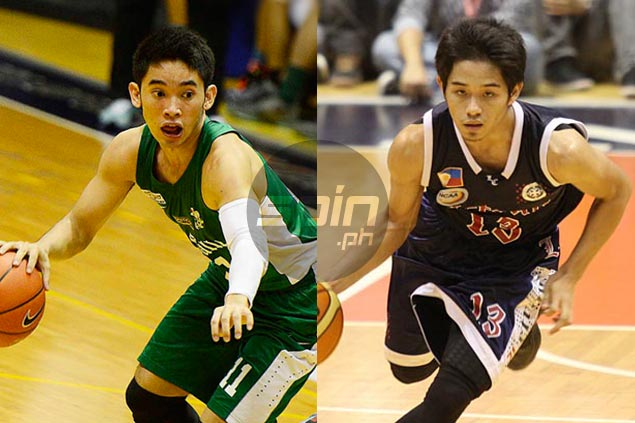 UAAP MVP Aljun Melecio plays down comparisons with his 'idol' Mark Cruz