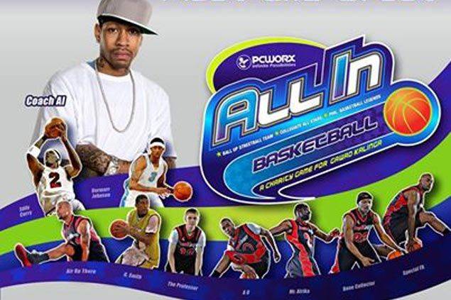 'All-In' organizers add cage clinic for adults to Allen Iverson's schedule during Philippine visit