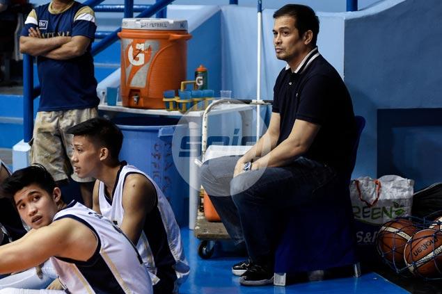 Alvin Patrimonio new NU Bulldogs big man coach, helps out former mentor Altamirano