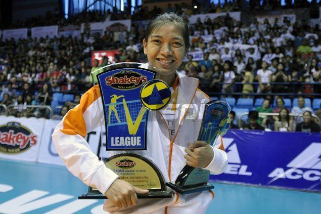Alyssa Valdez named MVP of V-League Open Conference