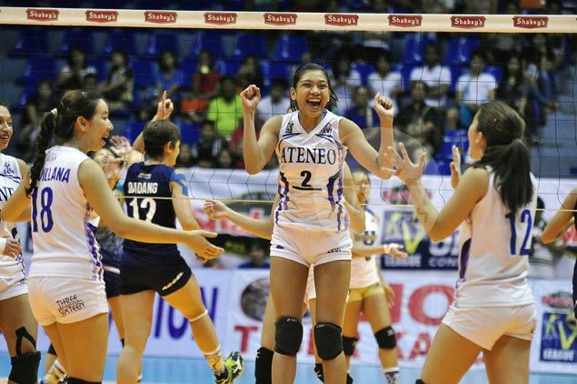 Ateneo Lady Eagles complete quarterfinals sweep to assure themselves of at least a playoff for Final Four spot