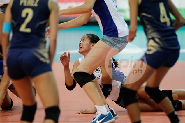 Ateneo Lady Eagles stop the bleeding with straight-sets win over NU Lady Bulldogs