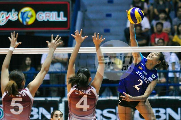 Ateneo Lady Eagles pull off five-set squeaker over UP Lady Maroons