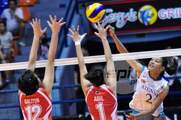 Ateneo makes short work of winless UE to keep slate unblemished, gain share of lead with La Salle