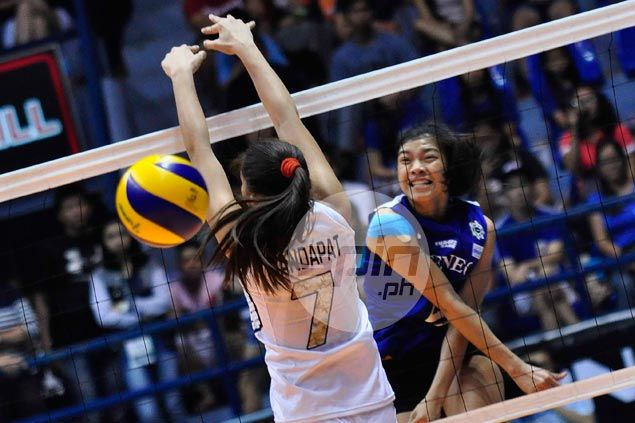 Unbeaten Lady Eagles deal NU, former coach Gorayeb a comprehensive beating