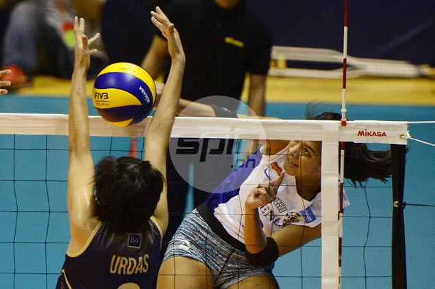 Alyssa Valdez leads way as expected as Ateneo Lady Eagles start bid for UAAP treble with rout of NU Lady Bulldogs