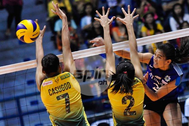 Lady Eagles survive error-strewn performance to edge Lady Tamaraws and preserve perfect slate