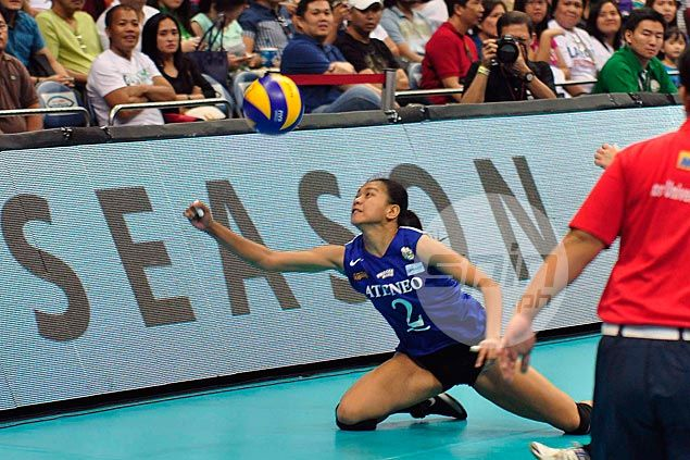 Ateneo Lady Eagles survive tough match against UST Tigresses to keep slate unblemished