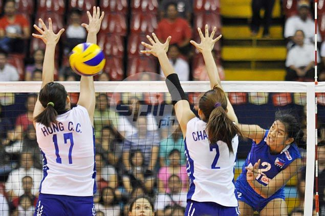 Philippines fades after strong start, loses to Chinese Taipei in Asian Under-23 volleyball