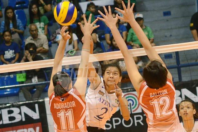 Ateneo Lady Eagles one win away from sweep, outright finals berth after easy win over lowly UE Lady Warriors