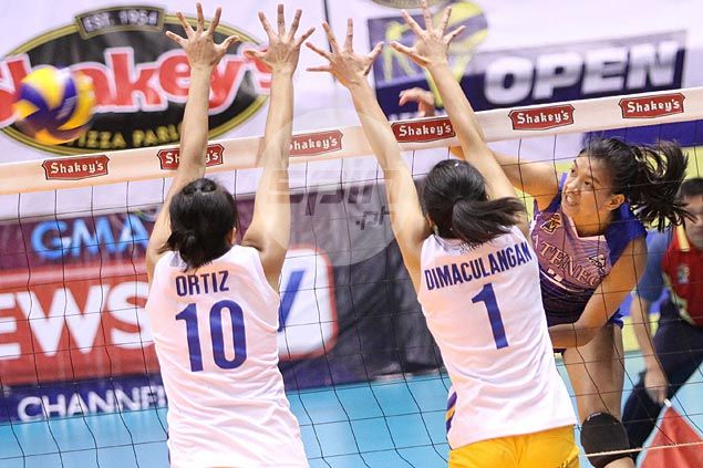 Lady Eagles, Air Spikers dispute last semifinals berth in Shakey's V-League