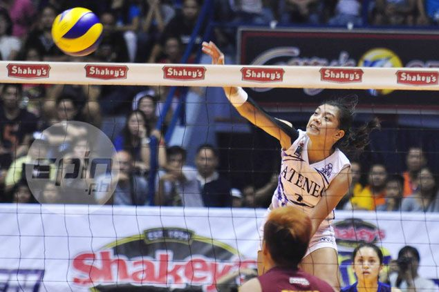 Ateneo fights for survival as it battles top-ranked Philippine Army in Shakey's V-League