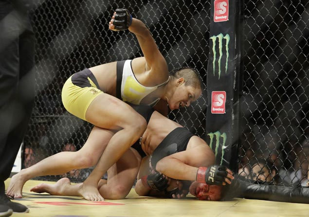UFC 213 main event scrapped as champion Amanda Nunes is hospitalized