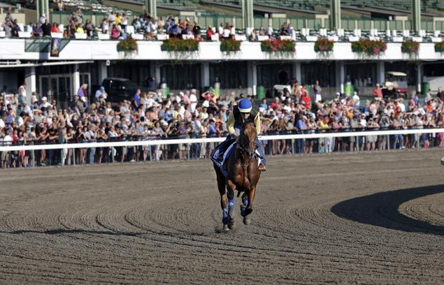 Flurry of activity around the racetracks as American Pharoah sees action in Travers Stakes