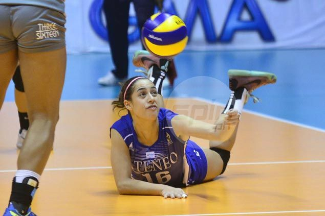 Ateneo Lady Eagles first to V-League semifinals after rout of Arellano Lady Chiefs