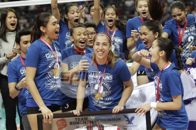 Amy Ahomiro honored to receive Finals MVP award, but stresses the run to the title was all about teamwork