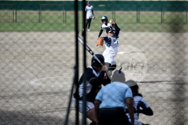 Adamson Lady Falcons one win away from another elims sweep and finals berth in UAAP softball