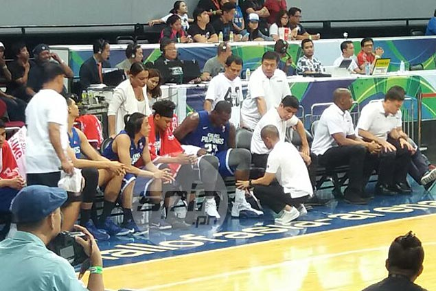 Andray Blatche quick to allay injury fears after skipping Gilas practice to rest 'sore' ankle
