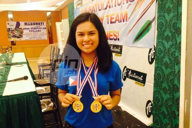 Andrea Robles skips high school graduation to help Philippines hit gold in Asia Cup archery meet
