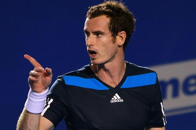 Briton Andy Murray's surgically-repaired back holding up fine