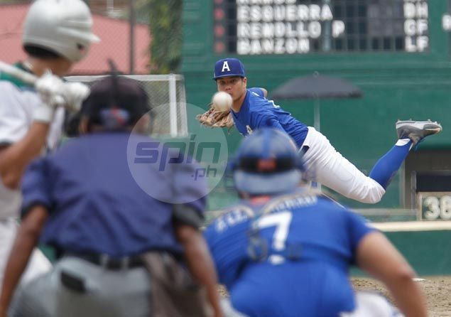 Tan solid on the mound, Remollo and Laurel deliver key hits as Ateneo wins UAAP series opener against La Salle