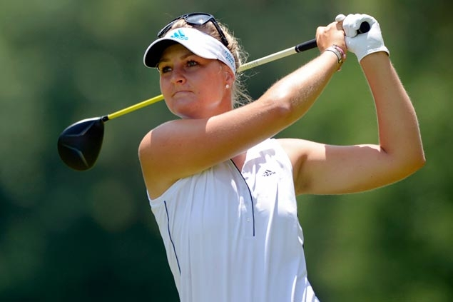 Anna Nordqvist fires 11-under 61 to move two strokes clear in Founders Cup