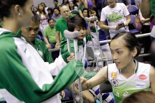 La Salle Lady Spikers injury woes deepen as Camille Cruz suffers torn ACL for third time in career