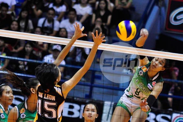 DLSU Lady Spikers continue hot streak and put an end to UST Tigresses' surprise run