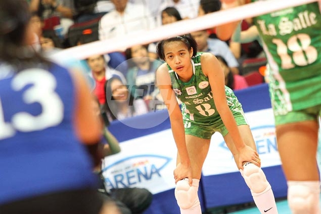 La Salle's Ara Galang leads scoring, while Ateneo's Alyssa Valdez is No. 1 in spikes