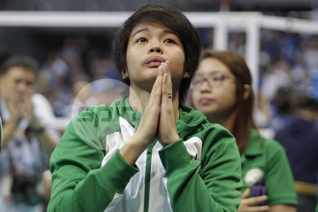 Injured Ara Galang says Ateneo deserved to win, but now she's aching to return to action and give La Salle a lift
