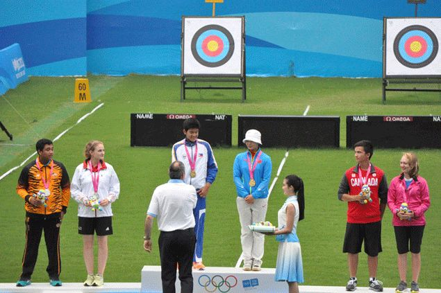 Archer Moreno teams up with China ace to win first-ever Youth Olympics gold for Philippines