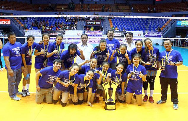 Lady Chiefs finally crown themselves NCAA women's volleyball champions